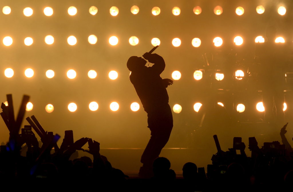 Kanye West appears on this list twice. Photo by Kevork Djansezian/Reuters