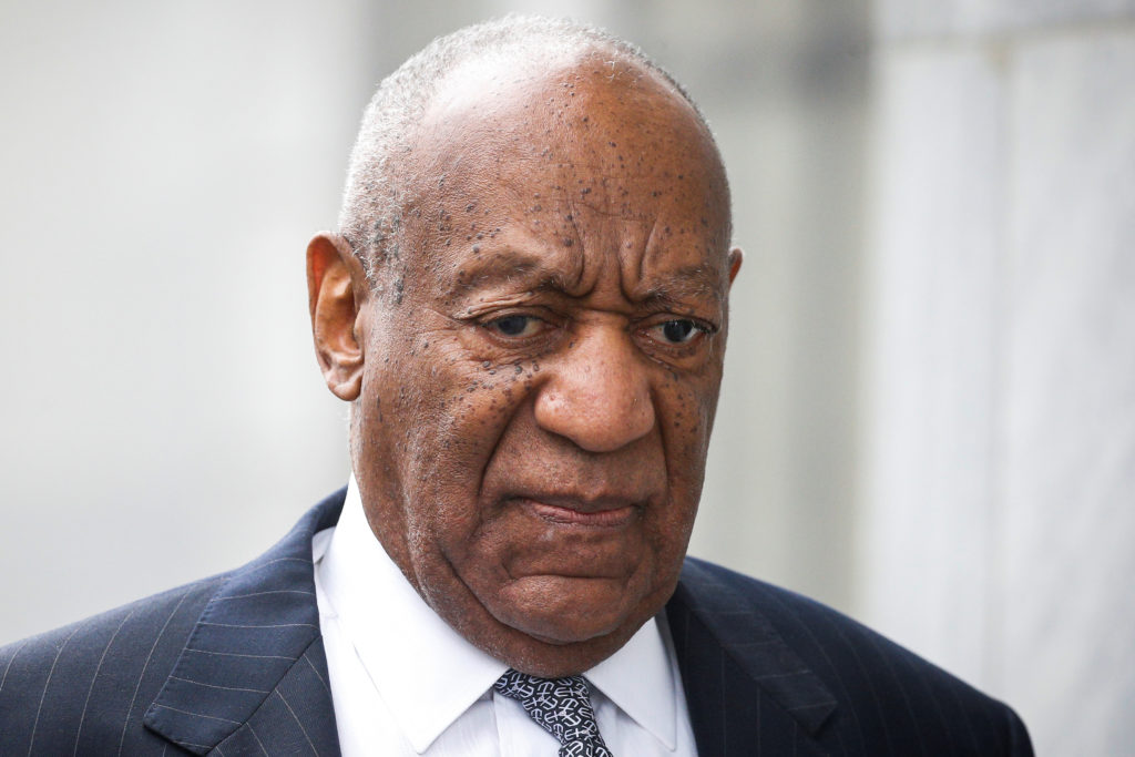 Actor and comedian Bill Cosby arrives for jury selection for his sexual assault trial at the Montgomery County Courthouse in Norristown, Pennsylvania, U.S., April 4, 2018. Photo by Brendan McDermid/Reuters