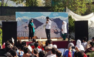 Afghan Youth Voices Festival encourages young people to express themselves through theater, photography and art. Photo courtesy of Internews