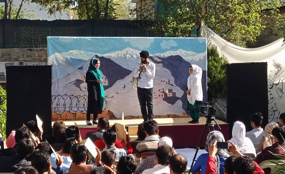 Afghan Youth Voices Festival encourages young people to express themselves through theater, photography and art. Photo cou...