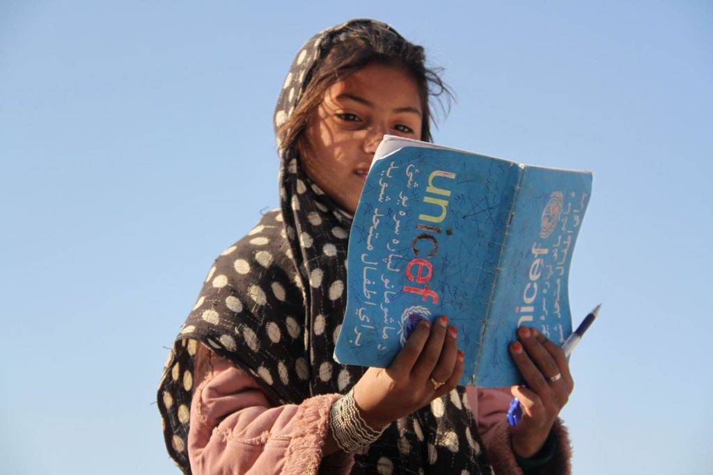 In Afghanistan, the literacy rate is one of the lowest in the world. Photo by Sifurahman Safi