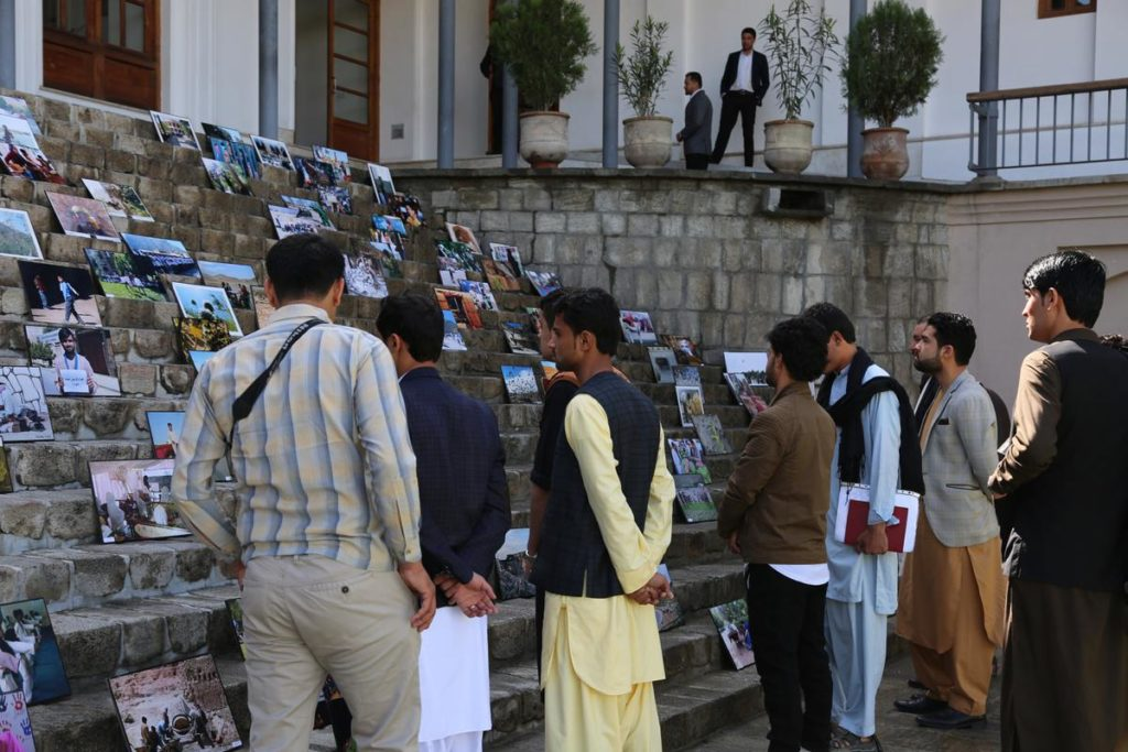 The festival highlighted photos taken over eight years from across Afghanistan. Photo courtesy of Internews