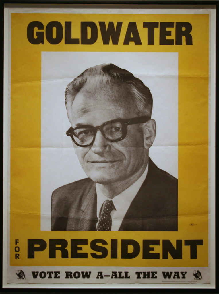 In 1964, Arizona Sen. Barry Goldwater ran for president. Photo by Cliff/Creative Commons