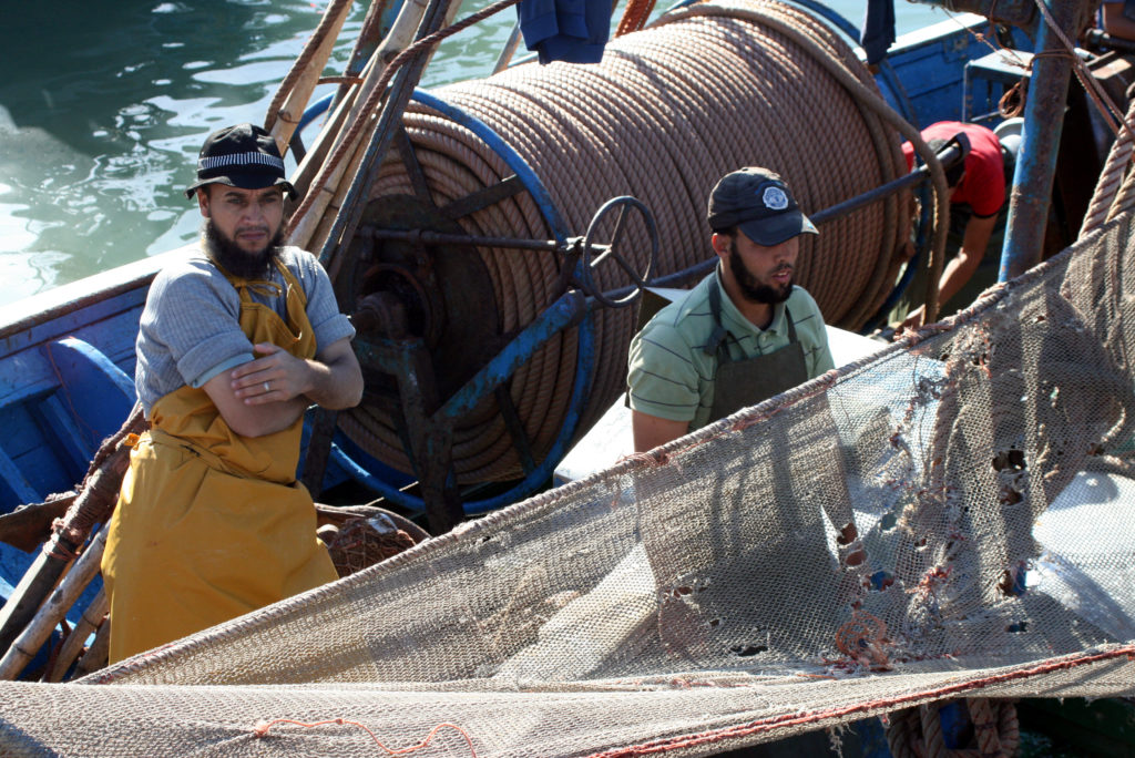 Fishing activities in Morocco's northern waters are restricted to rebuild stock. So fishing off Western Sahara's coast has become more significant, both economically and politically. Photo by Larisa Epatko