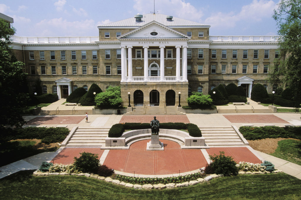 University Of Wisconsin Badgers Campus