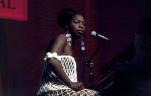 Nina Simone performing in 1968. Photo by David Redfern/Redferns