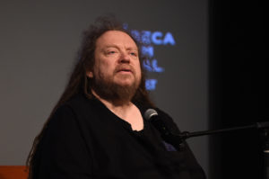 NEW YORK, NY - APRIL 23: American computer philosophy writer, Jaron Lanier speaks during Tribeca Talks: Jaron Lanier at Tribeca Film Center on April 23, 2018 in New York City. (Photo by Ilya S. Savenok/Getty Images for Tribeca Film Festival)