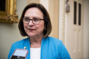 Sen. Deb Fischer, R-Neb., won the Republican Senate primary in Nebraska Tuesday, beating four GOP challengers. Photo By Bill Clark/CQ Roll Call