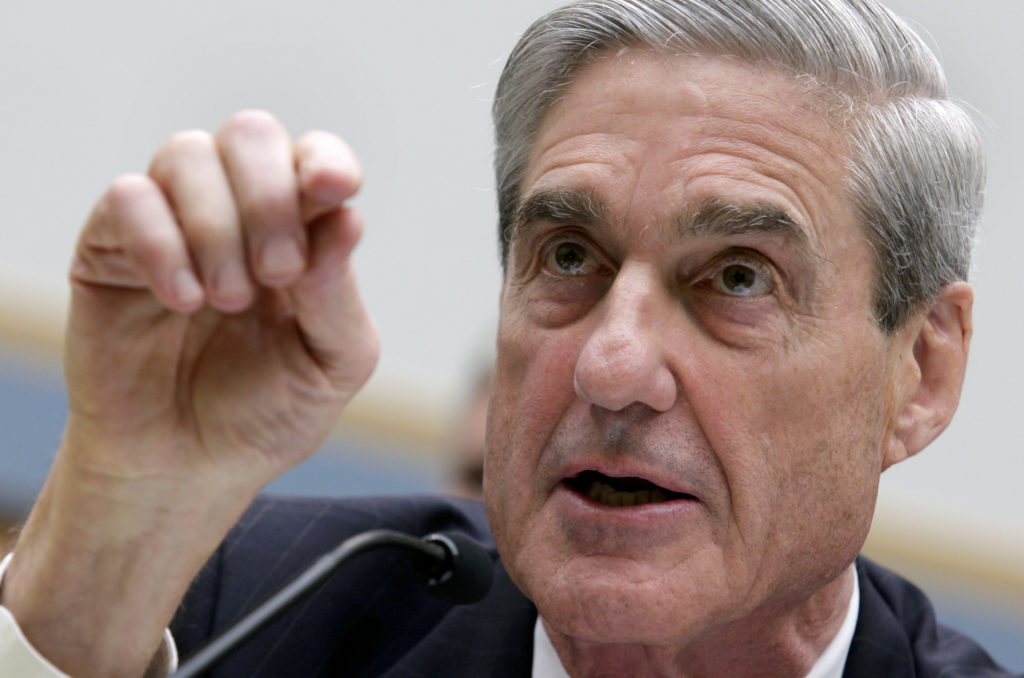 Special Counsel Robert Mueller's delivered his final report to U.S. Attorney General William Barr on Friday. Photo by Yuri...