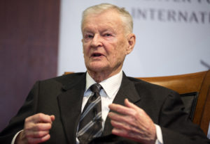 File photo of former U.S. national security adviser Zbigniew Brzezinski by Joshua Roberts/Reuters
