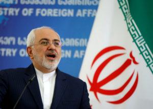 Iranian Foreign Minister Mohammad Javad Zarif. File photo by David Mdzinarishvili/Reuters