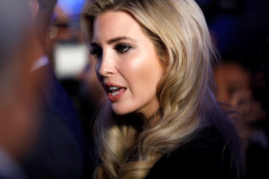 Senior White House Adviser Ivanka Trump is seen during a reception held at the Israeli Ministry of Foreign Affairs in Jerusalem ahead of the moving of the U.S. embassy to Jerusalem, May 13, 2018. REUTERS/Amir Cohen