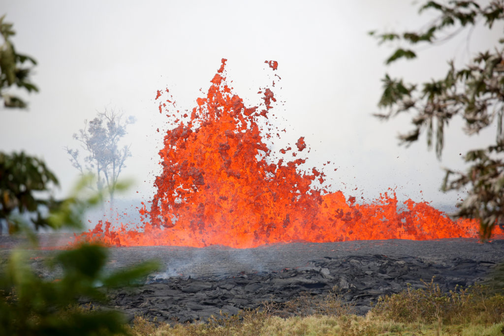 'World of uncertainty': Hawaii lava reaches sea, injures man
