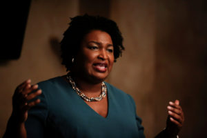 Stacey Abrams won the Democratic primary in Georgia's governor's race Tuesday. REUTERS/Chris Aluka Berry/File Photo