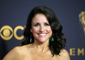 Julia Louis-Dreyfus arrives for the 69th Primetime Emmy Awards in Los Angeles, California, September 17, 2017. REUTERS/Mike Blake