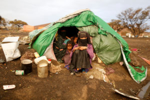 A camp for internally displaced people near Sanaa, Yemen. File photo by Khaled Abdullah/Reuters