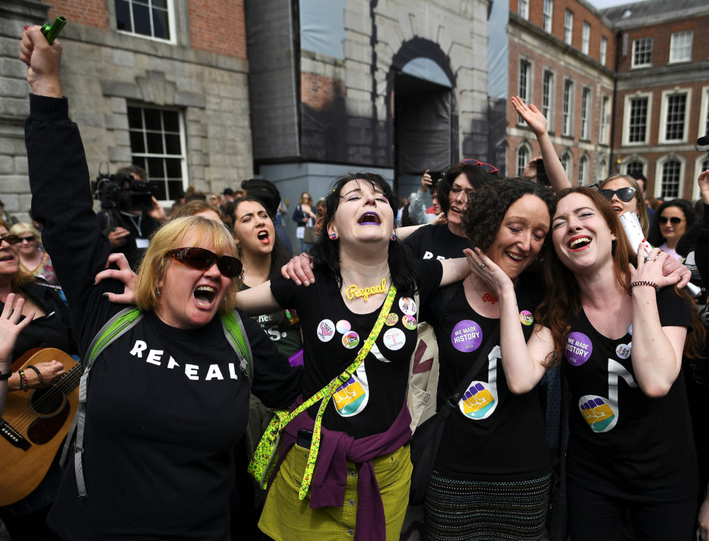 Irish antiabortion campaign promises to 'regroup' as ban is overturned