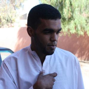 Larbass Abid, a Sahrawi born in Laayoune, Western Sahara. Photo by Larisa Epatko