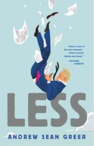 """Less,"" by Andrew Sean Greer. Credit: Lee Boudreaux Books"