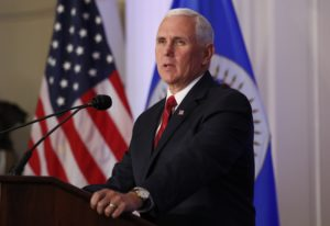 File photo of Vice President Mike Pence by Kevin Lamarque/Reuters