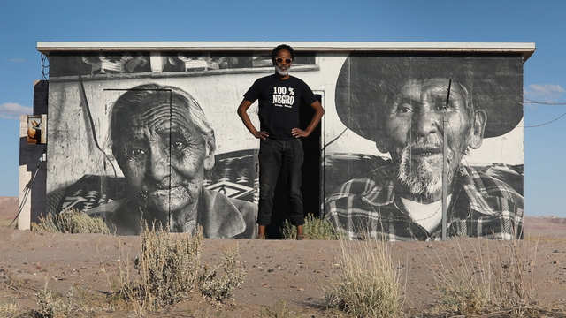 This Street Artist Portrays Navajo Life With Large Scale Murals Pbs Newshour Weekend