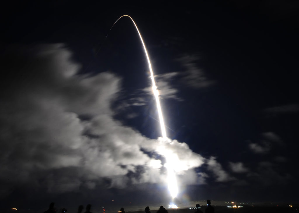 The United Launch Alliance (ULA) Atlas V 541 launches the NROL-35 mission for the National Reconnaissance Office (NRO) at the Vandenberg Air Force Base in California December 12, 2014. Photo by REUTERS/Gene Blevins