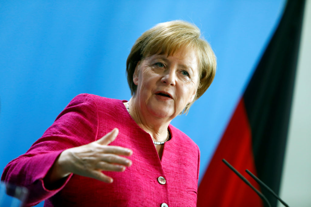 Angela Merkel Says Climate Change Is A Fact Laments U S Stance Pbs Newshour