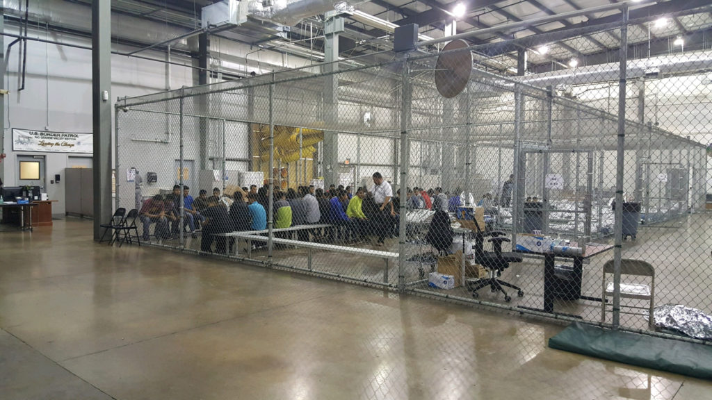 Migrant mother recounts experience of being separated from