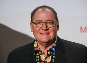 Filmmaker John Lasseter of the U.S. poses at the opening of the Lumiere Grand Lyon film festival in Lyon, France, October 12, 2015. REUTERS/Robert Pratta