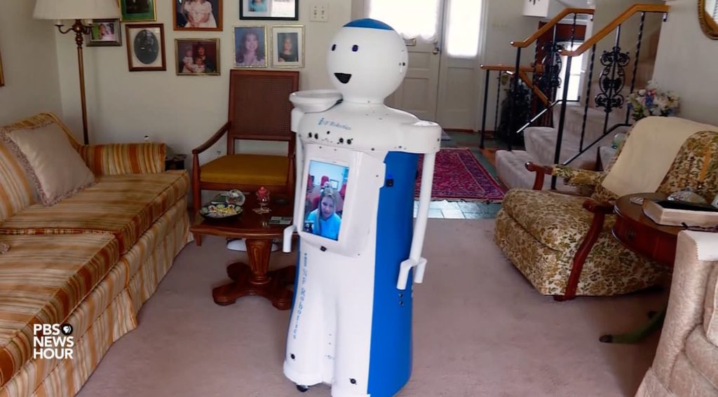 Meet a robot offering care and companionship to seniors