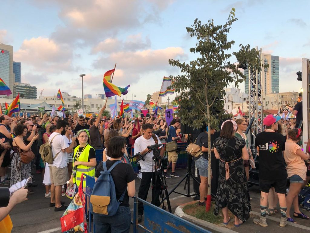Thousands strike and march in Israel in support of surrogacy rights for gay fathers
