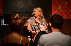 Roseanne Barr attends live podcast at Stand Up NY on July 26, 2018 in New York City. Photo by James Devaney/Getty Images