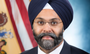 Photo of the nation's first Sikh-American attorney general Gurbir Grewal.