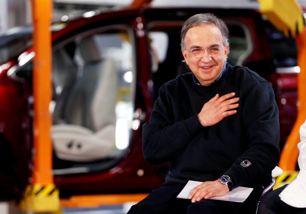 File Photo Of Fca Ceo Sergio Marchionne By Rebecca Cook Reuters