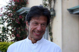 Imran Khan is the head of the Pakistan Tehreek-e-Insaf party, which boycotted elections in 2008 but is running in upcoming parliamentary elections. Photo by Larisa Epatko