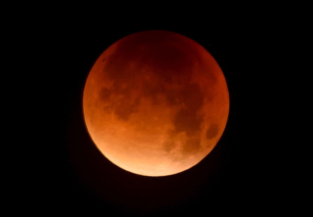 Lunar Eclipse Chandra Grahan Blood Moon 2018