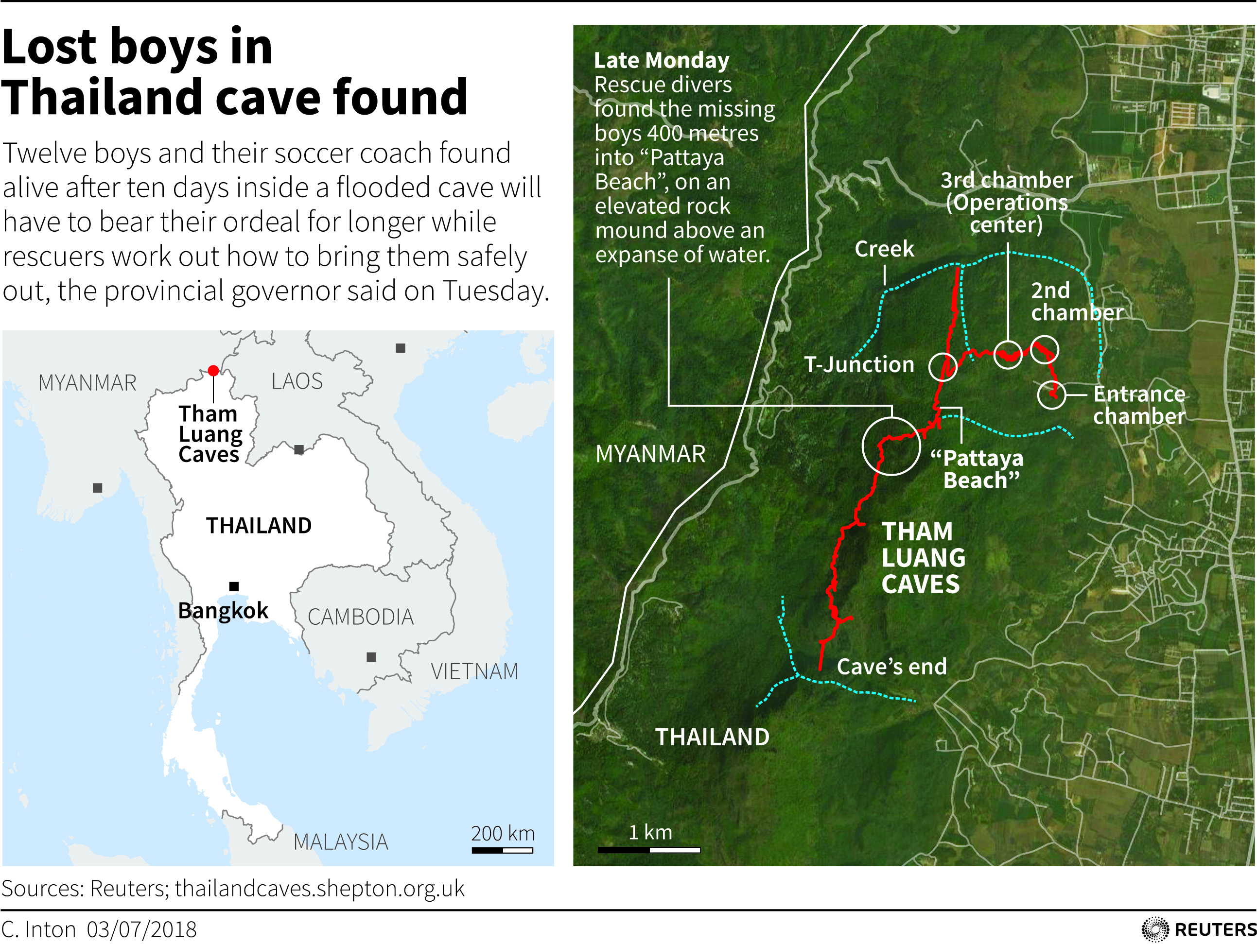 3 ways rescuers could free youth soccer team from Thailand cave ...