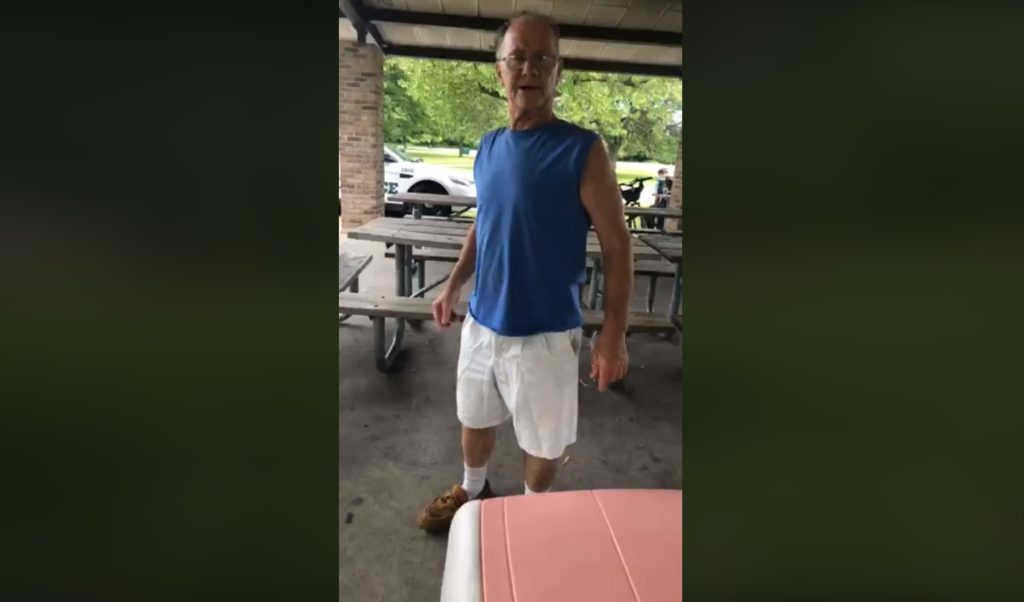 Man charged with hate crime after video shows him harassing woman over Puerto Rico shirt