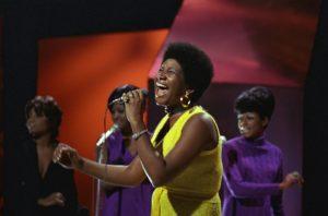 Aretha Franklin, 1970. Photo by Ron Howard/Redferns