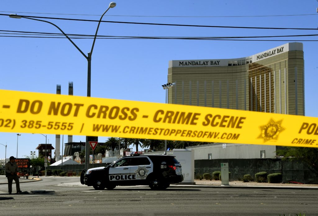 Las Vegas police are closing the investigation on the Route 91 Harvest Festival Shooting, but some of the most pressing questions about the shooter's motive remain. Photo by Mark Ralston/AFP/Getty Images.