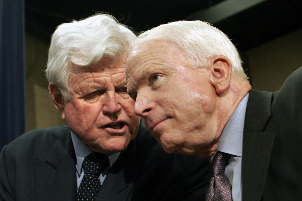 How Did John Mccain And Ted Kennedy Find Common Ground They