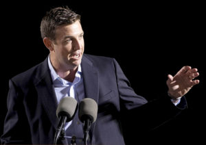 Rep. Duncan Hunter, R-Calif., is under indictment as he seeks a sixth term. Photo by Earnie Grafton/Reuters