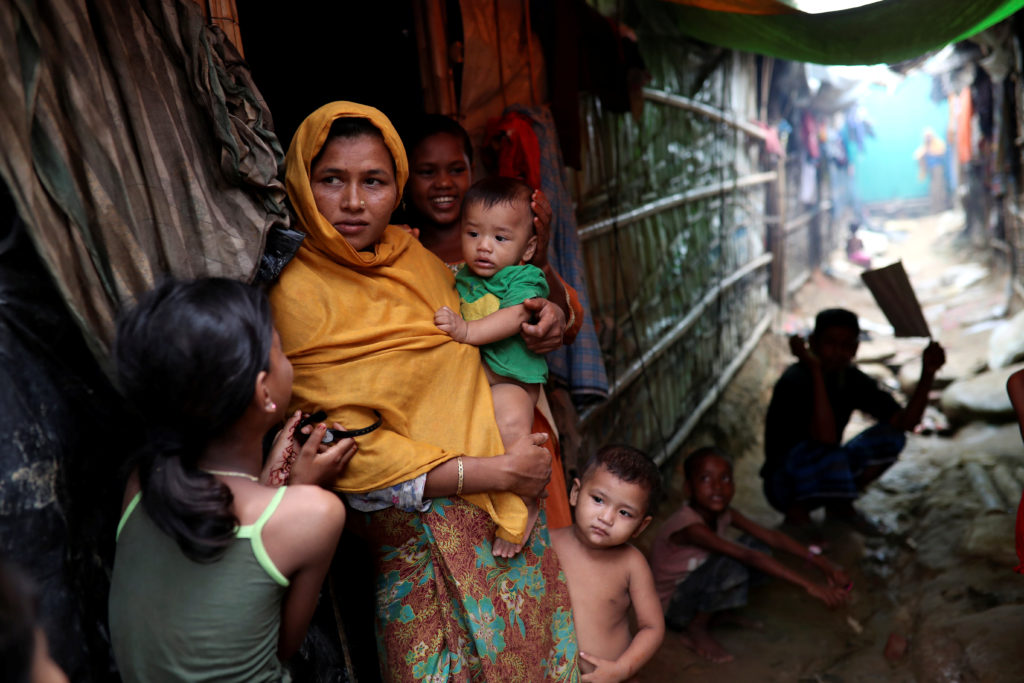Rohingya refugees have settled into makeshift camps, including this one called Kutupalong, in Cox's Bazar, Bangladesh. Photo by Mohammad Ponir Hossain/Reuters