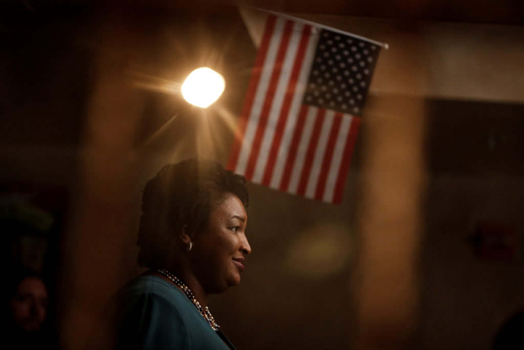 Stacey Abrams, running for the Democratic primary for Georgia's 201…