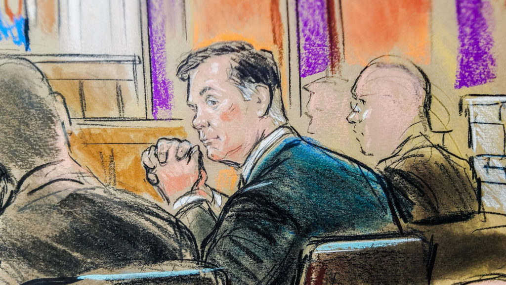 Star Witness Gates Testifies He Committed Crimes With Manafort