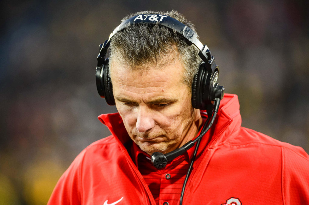 File photo of Ohio State coach Urban Meyer by Jeffrey Becker-USA TODAY Sports/Reuters