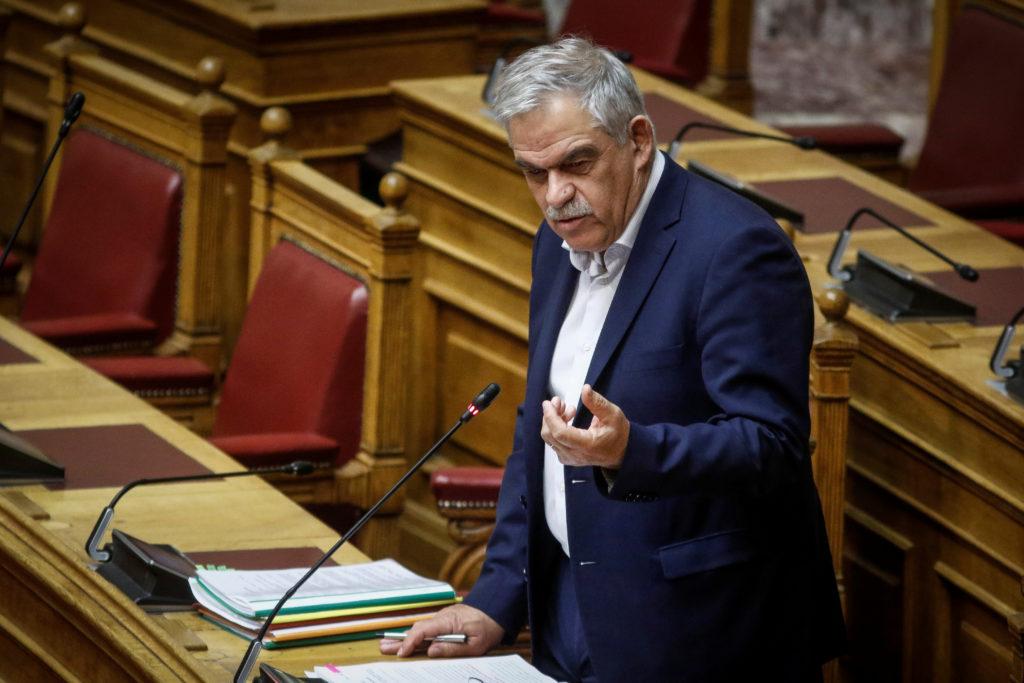 File photo of Greek public order minister Nikos Toskas by Giorgos Kontarinis/Eurokinissi via Reuters