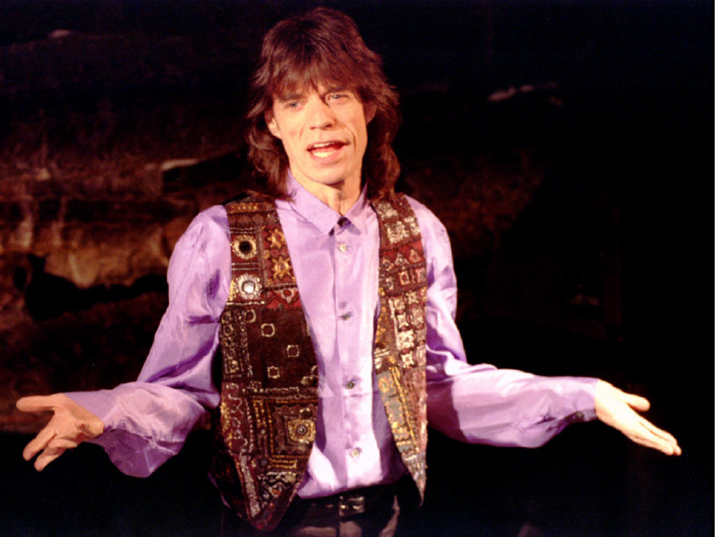 Rock star Mick Jagger in New York in 1993. File photo by Mike Segar/Reuters