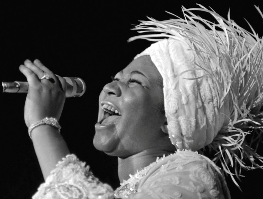 Aretha Franklin opens at Caesars Palace in Las Vegas, Nevada, U.S.,…