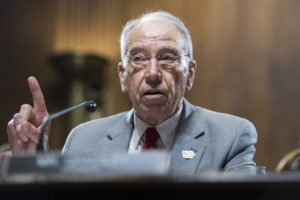 Senate Judiciary Chairman Charles Grassley. Photo By Tom Williams/CQ Roll Call)